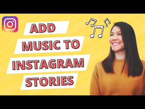 How to add MUSIC to Instagram Stories 2018
