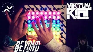 Virtual Riot - Beyond // Launchpad MK2 Cover