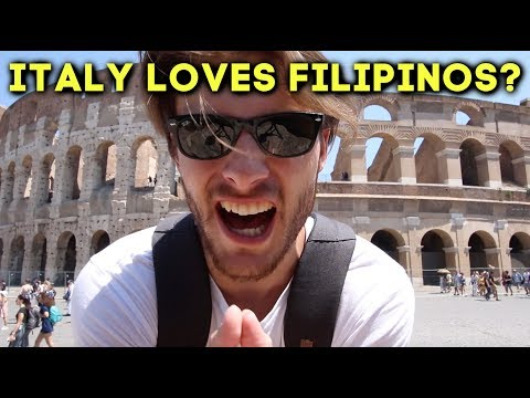 Why ITALY Loves FILIPINOS (I Was Surprised)