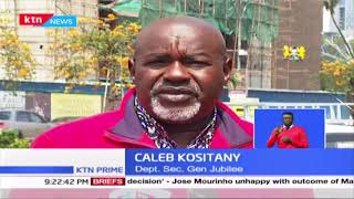 Jubilee Cold War: Kositany & Tuju in war of words; plans are underway to kick Caleb out