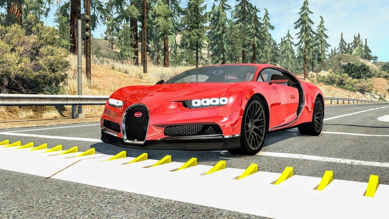 Spike Strip High Speed Crashes #45 – BeamNG Drive | CrashBoomPunk