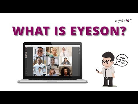 What is eyeson?