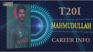Mahmudullah T20I Career Info CRIC75