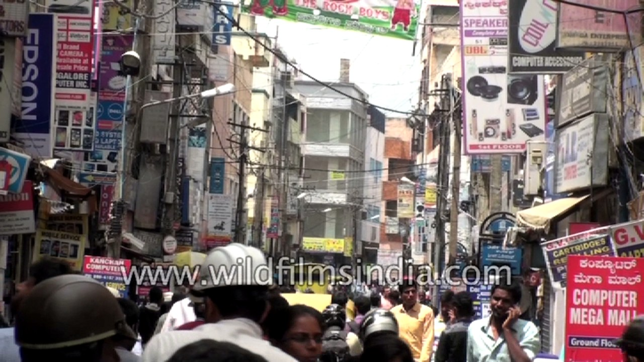 sp road bangalore map Sp Road In Bangalore Famous For Electronic Products Youtube sp road bangalore map