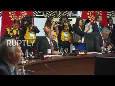 Peru: Obama and Putin speak on sidelines of APEC Economic Leaders Meeting