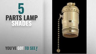 Top 10 Parts Lamp Shades [2018 ]: Upgradelights Uno Socket with Pull Chain and Swivel Down Bridge