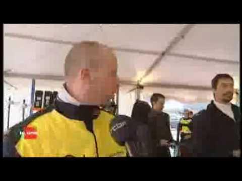 Biofuel Racing challenge Moucron on RTBF Belgian news