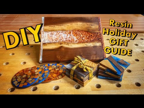 How Resin Can Help Make the Perfect Gifts | Diy Projects