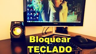 Como Bloquear el Teclado con un atajo en windows 7/8 #Tips