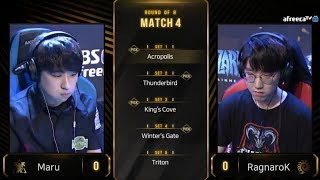 [2019 GSL S3] Code S Ro.8 Day2 Match2 Maru vs RagnaroK