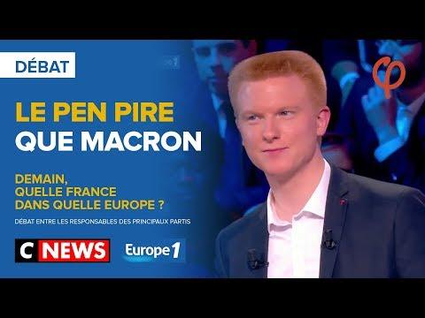Le Pen pire que macron   Adrien Quatennens