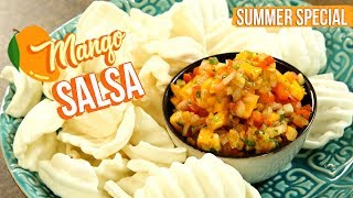 Mango Salsa Recipe - How To Make Mango Salad - Mango Recipes - Varun Inamdar