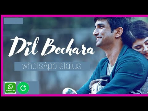 dil-bechara-sushant-singh-rajput-|whatsapp-status|-editor-xm