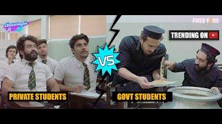 Govt VS Private Students | Part 4 | Our Vines | Rakx Production