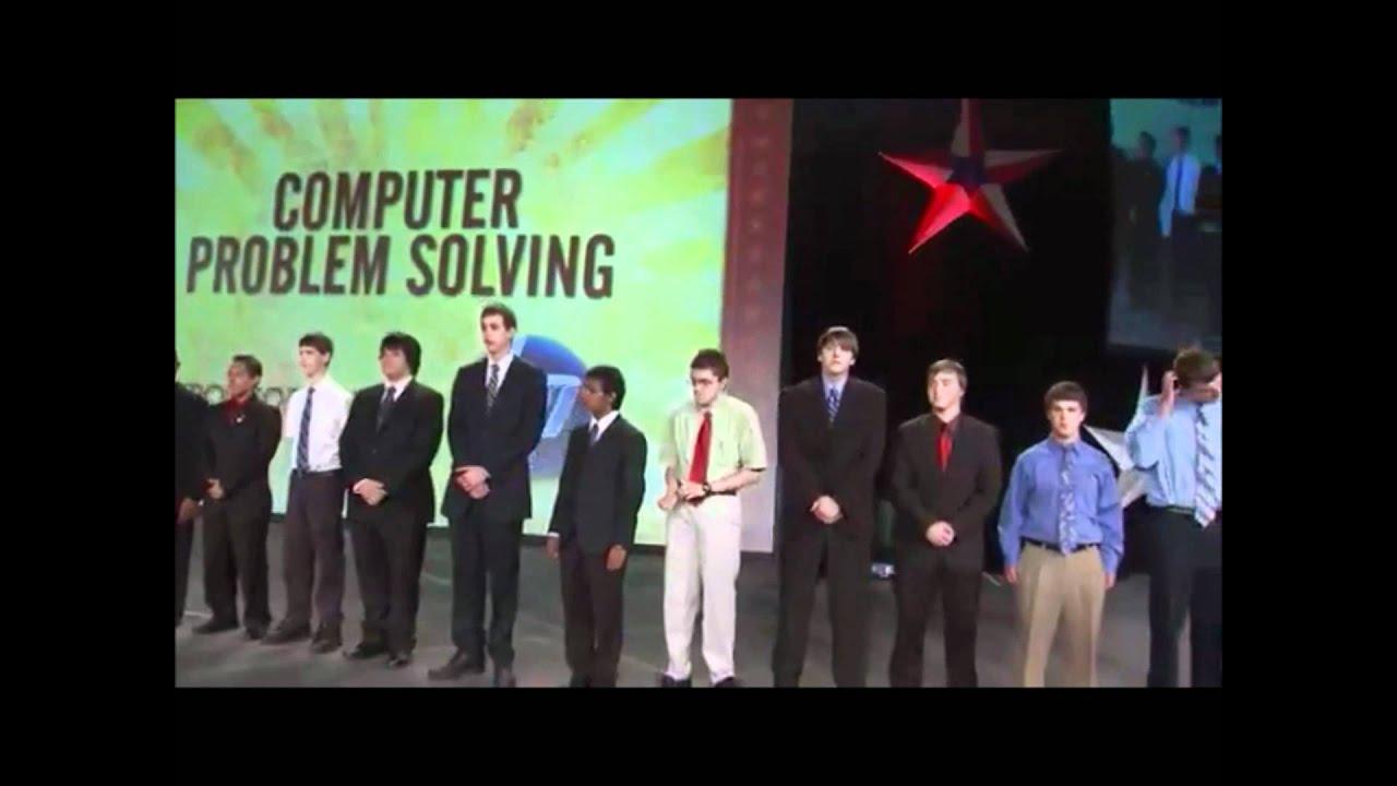 computer problem solving fbla quizlet
