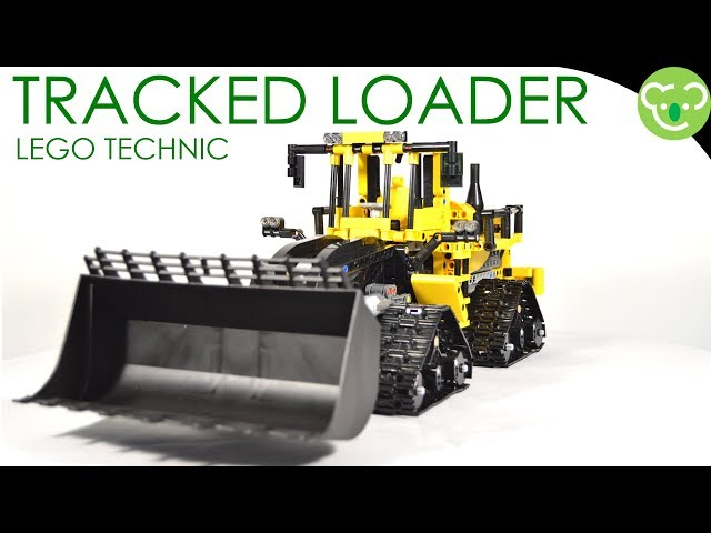 Tracked Loader - MOC Lego Technic Powered by BuWizz