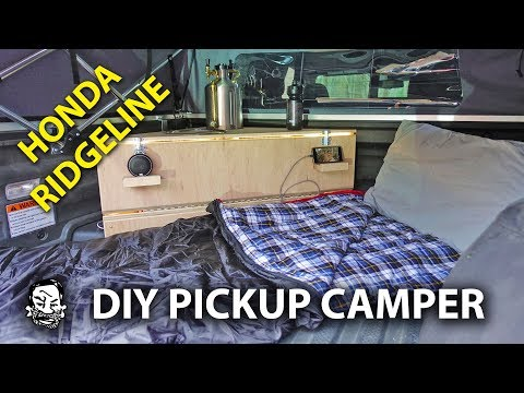 Compact Pickup Camper - Vanlife without a Van
