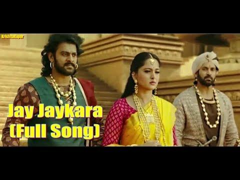 Jay-Jaykara |Full Video Song | Baahubali 2 The Conclusion | Prabhas & Anushka Shetty | Kailash Kher
