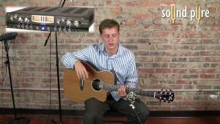 Neumann KM184 Recording Acoustic Guitar