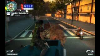 Just Cause 2 - Bolo Patch - towing people with car
