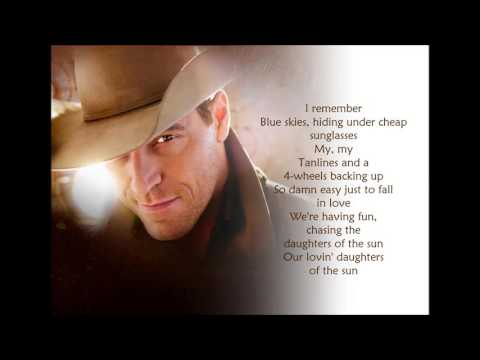 Daughters of the Sun - George Canyon (Lyrics)