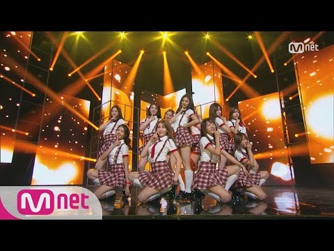 [I.O.I - Dream Girls] KPOP TV Show L M COUNTDOWN 160512 EP.473