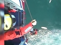 Raw: UK Surfer Rescued After 30 Hours at Sea
