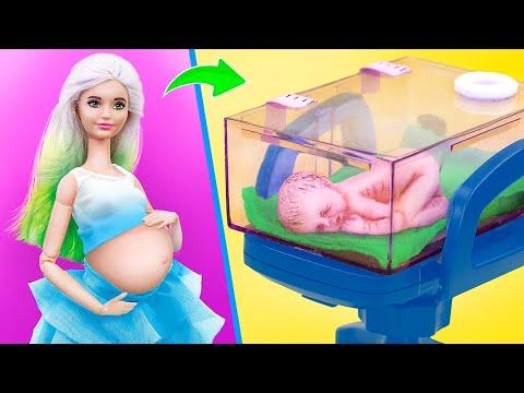 11 лайфхаков и поделок для Барби и ЛОЛ в кукольной больнице