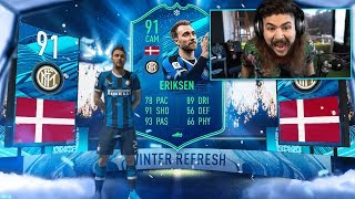 OMG I PACKED THE BEST WINTER REFRESH!! FIFA 20