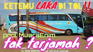 Penampakan Pool Muaraenim ! Trip Report Bus Rosalia Indah Muaraenim – Brebes
