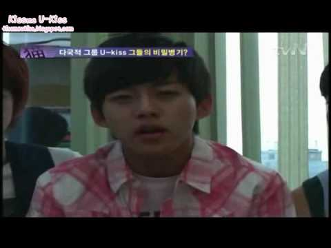"""100719 U-Kiss - tvN Real Story News """"Int. Idol Group Members"""" CUT"""