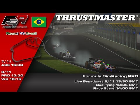 FSR 2015 Broadcasts - Thrustmaster PRO Championship Round 14, Brazilian Grand Prix