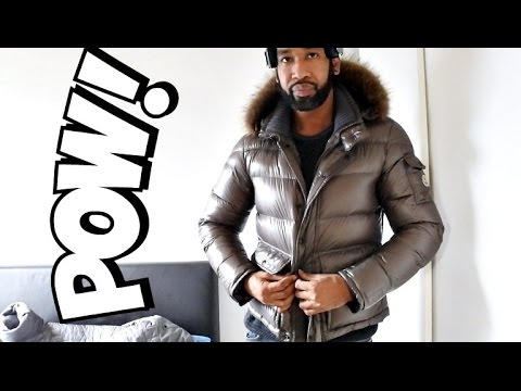 Trying MONCLER HUBERT SKI JACKET | Full Review & Try-On