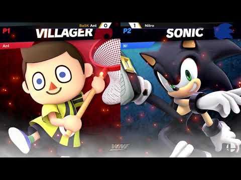 WNF 1.3 - BaSK | Ant (Villager) vs Nitro (Sonic) Pools - Smash Ultimate