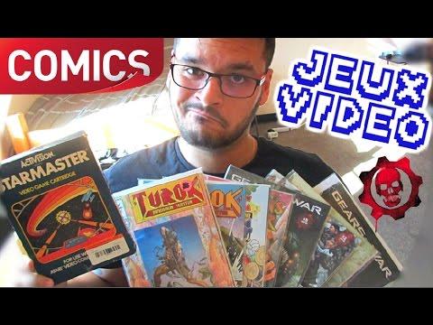 [AMG #30] LIVE de CASH américain - Jeux vidéo rétro & Comics