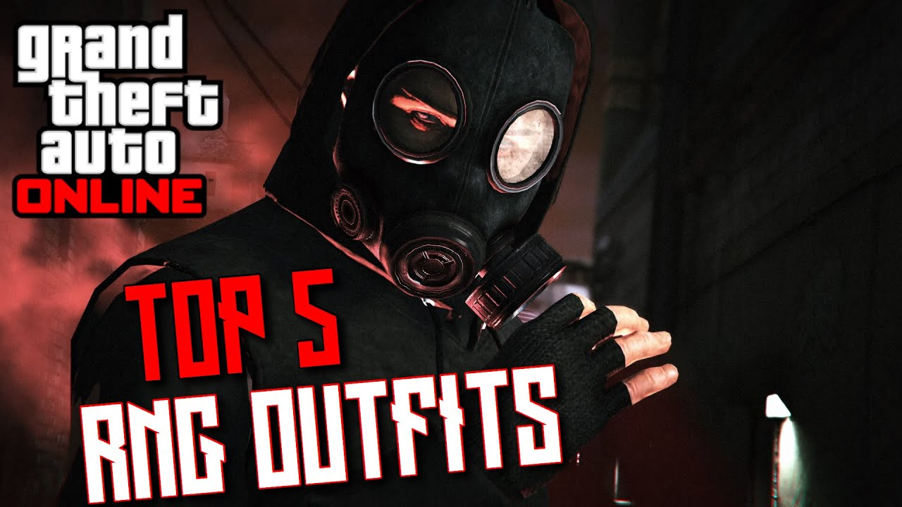 GTA ONLINE | TOP 5 MODDED MALE RNG TRYHARD OUTFITS | Outfit Showcase #14