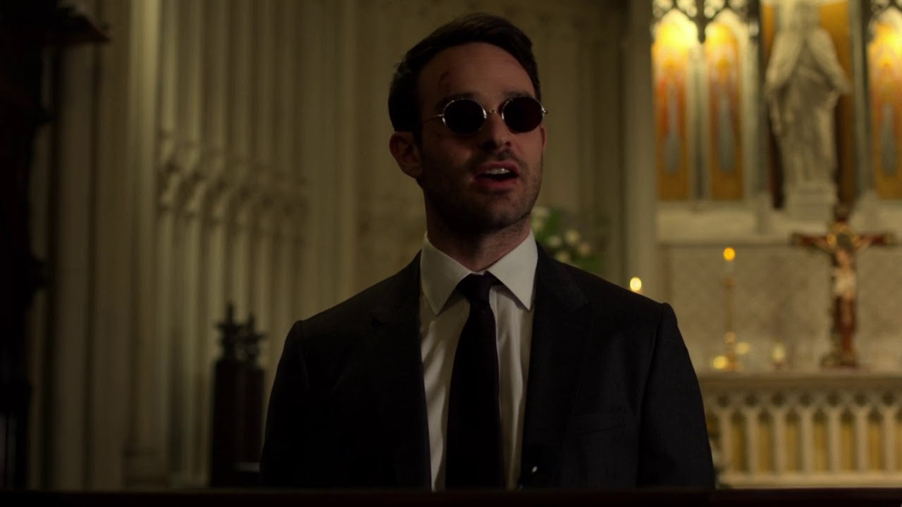A Man Without Fear Speech - Matt Murdock at Church - Daredevil Season 3