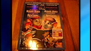 Unboxing - Les aventures de Bernard et Bianca/Bernard et Bianca en Australie en Blu-ray