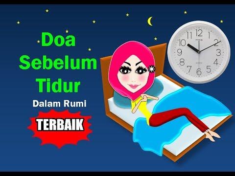 Doa Sebelum Tidur Rumi Terbaik