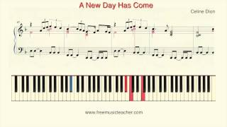 "How To Play Piano: Celine Dion ""A New Day Has Come"" Piano Tutorial by Ramin Yousefi"