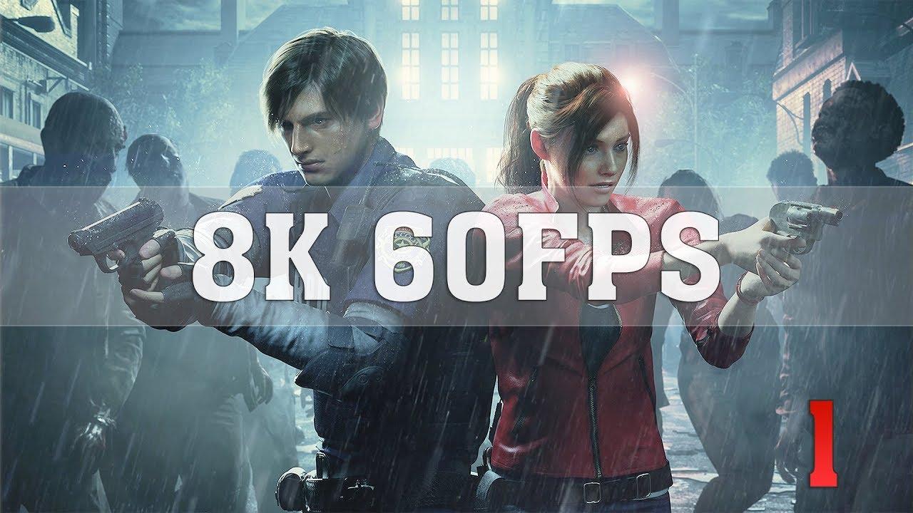 Resident Evil 2 Remake 8K ULTRA Settings [8K 60FPS] No  1 | RTX Titan SLI  (NVLink) | ThirtyIR