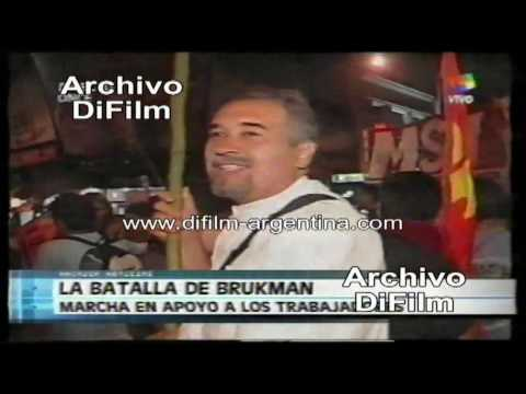Cierre de la Fabrica Brukman - DiFilm (2003)