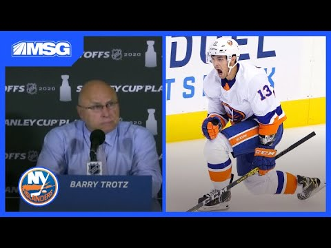 Gotta hand it to the Islanders, they may not have gotten past the Lightning but they had one hell of a playoff run...pretty much thanks to Barry Trotz.