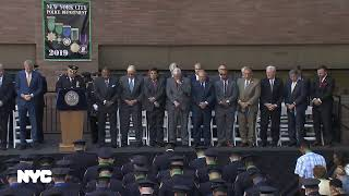 Mayor de Blasio Attends NYPD Medal Day Ceremony