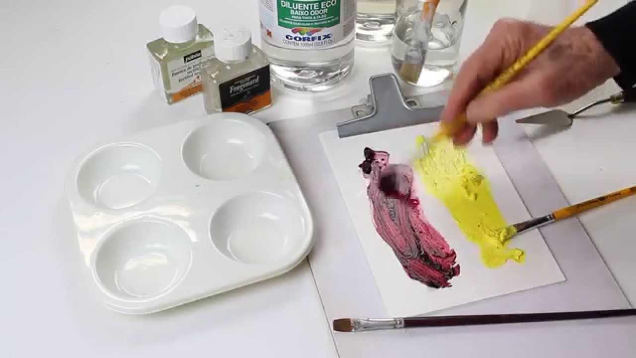 Técnicas de Pintura: São inúmeras e variadas, tanto ...