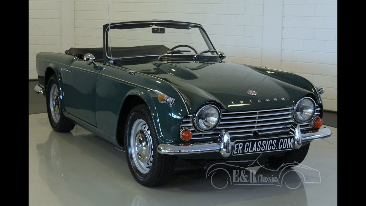 triumph tr4 a irs cabriolet 1968 video youtube. Black Bedroom Furniture Sets. Home Design Ideas