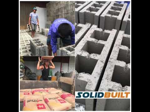 SolidBuilt Construction Supplies, Cement Hollow Blocks (CHB)