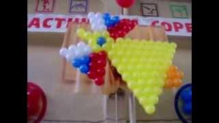 Последний звонок . ОМСК . Оформление воздушными шарами(http://www.omsk-prazdnik.narod.ru ЛЮБАЯ ФАНТАЗИЯ ИЗ ВОЗДУШНЫХ ШАРОВ..., 2010-05-28T02:18:13.000Z)