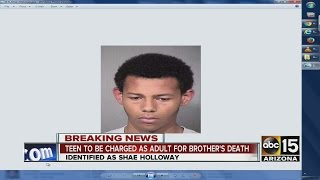 Youngtown teen accused in brother's death ID'd