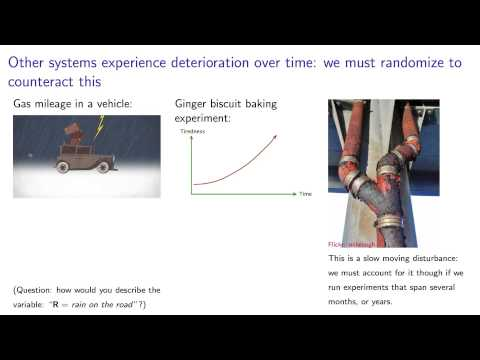 Experiments 4D - All about disturbances, why we randomize, and what covariates are
